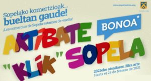 """EDICION DE AKTIBATE """"KLIK"""" SOPELA"""